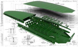دانلود پروژه طراحی بال هواپیمای جنگنده سوپرمارین اسپیتفایر (2)