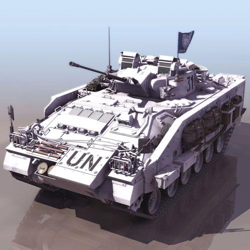 دانلود پروژه طراحی تانک سازمان ملل متحد