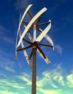 دانلود پروژه طراحی توربین بادی مارپیچی