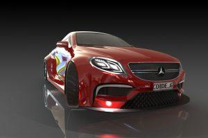 دانلود پروژه طراحی خودروی اسپرت مرسدس بنز S63 AMG (1)