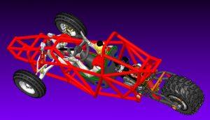 دانلود پروژه طراحی خودرو باگی سه چرخ (2)