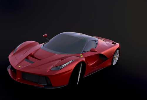 دانلود پروژه طراحی خودرو سوپر اسپرت فراری لافراری (2)