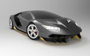 دانلود پروژه طراحی خودرو لامبورگینی سنتناریو (1)