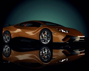 دانلود پروژه طراحی خودرو لامبورگینی هوراکان (1)