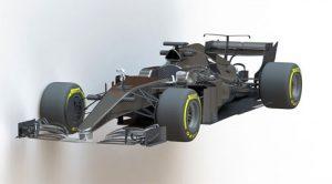 دانلود پروژه طراحی خودرو مسابقه فرمول یک مرسدس بنز W07 (2)