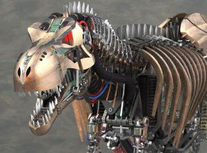 دانلود پروژه طراحی دایناسور تی رکس رباتیک (2)