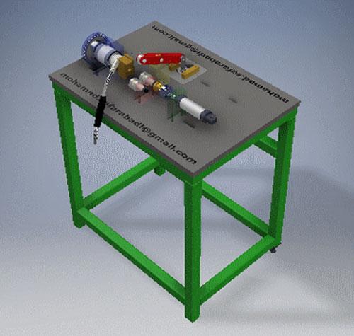 دانلود پروژه طراحی دستگاه جوش روتاری (2)