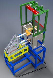 دانلود پروژه طراحی دستگاه جوش پلاستیک صفحه داغ
