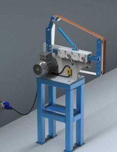 دانلود پروژه طراحی دستگاه سنگ زنی تسمه ای