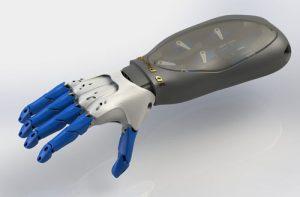 دانلود پروژه طراحی دست و بازوی انسان رباتیک (3)