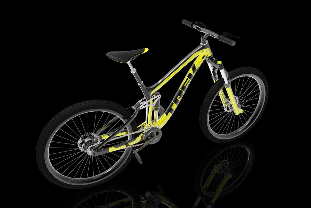 دانلود پروژه طراحی دوچرخه کوهستان Trek (2)