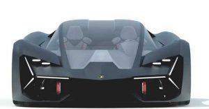 دانلود پروژه طراحی سوپر خودرو لامبورگینی ترزو میلنیو (3)