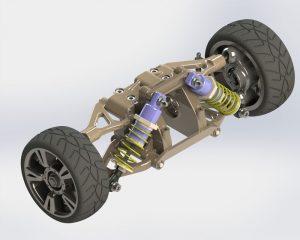دانلود پروژه طراحی سیستم تعلیق خودرو