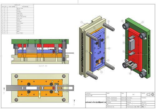 دانلود پروژه طراحی قالب برش (3)