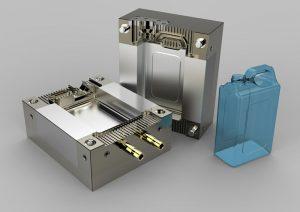 دانلود پروژه طراحی قالب تزریق پلاستیک دبه گالن (1)