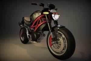 دانلود پروژه طراحی موتورسیکلت دوکاتی مانستر 796 (1)