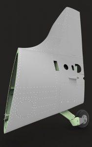 دانلود پروژه طراحی مکانیزم دم , بالچه و چرخ عقب هواپیمای جنگنده (2)