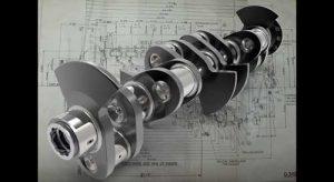 دانلود پروژه طراحی میل لنگ موتور هواپیما رولز رویس مرلین