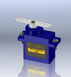 دانلود پروژه طراحی میکرو سروو موتور SG90