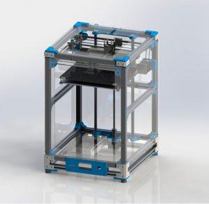 دانلود پروژه طراحی پرینتر سه بعدی آلتی میکر 2