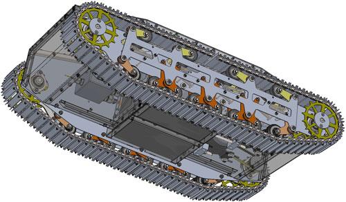 دانلود پروژه طراحی چرخ شنی برقی کنترلی (3)