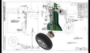 دانلود پروژه طراحی چرخ هواپیمای جنگنده سوپرمارین اسپیتفایر