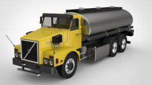 دانلود پروژه طراحی کامیون تانکردار ولوو N10 (2)
