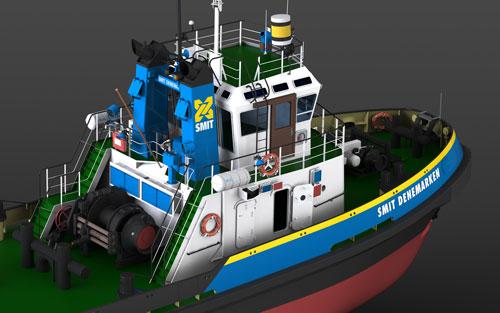 دانلود پروژه طراحی کشتی یدک کش اسمیت دانمارک (2)