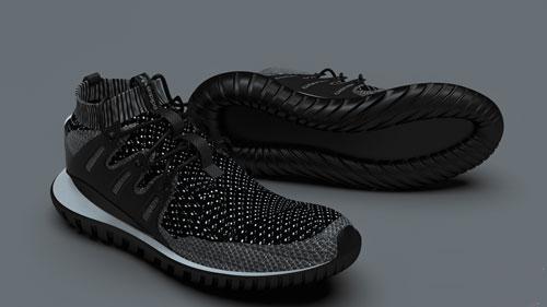 دانلود پروژه طراحی کفش اسپرت آدیداس توبولار نوا