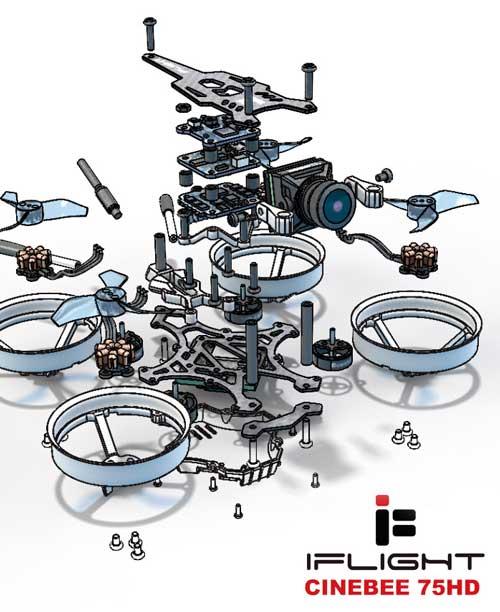 دانلود پروژه طراحی کوادکوپتر دوربین دار iFlight (2)