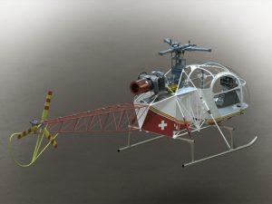 دانلود پروژه طراحی گیربکس موتور هلیکوپتر لاما (2)