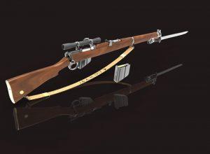 دانلود پروژه طراحی اسلحه لی انفیلد 303 SMLE (3)