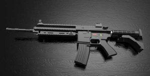 دانلود پروژه طراحی اسلحه هکلر و کخ 416 (1)