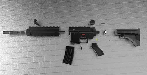 دانلود پروژه طراحی اسلحه هکلر و کخ 416 (2)