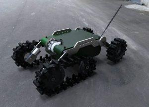 دانلود پروژه طراحی تانک رباتیک