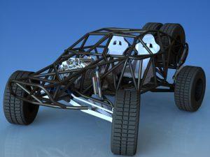 دانلود پروژه طراحی خودروی اسپرت رالی فایتر (2)