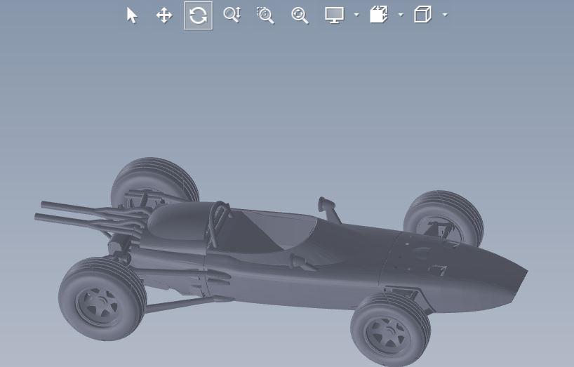 دانلود پروژه طراحی خودرو اسپرت فرمول یک هوندا Honda RA272 (1)