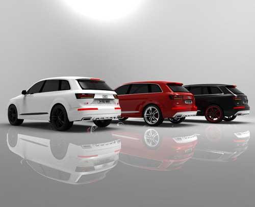 دانلود پروژه طراحی خودرو شاسی بلند آئودی Q7 (1)