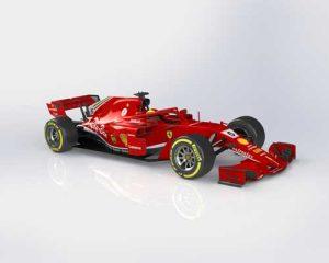 دانلود پروژه طراحی خودرو فرمول یک فراری Ferrari SF71H