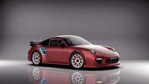 دانلود پروژه طراحی خودرو پورشه 911 GT2 997
