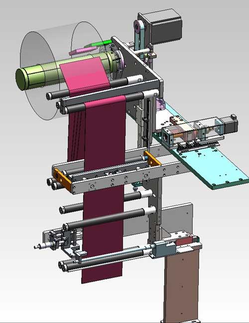 دانلود پروژه طراحی دستگاه لمینیت باتری (2)