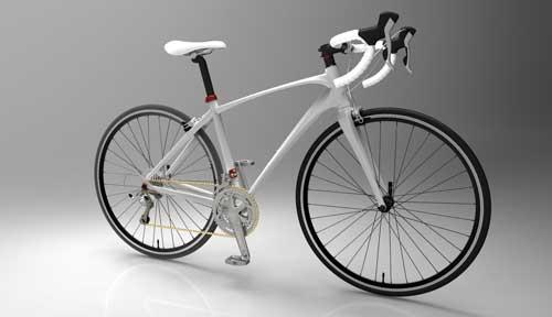 دانلود پروژه طراحی دوچرخه کورسی