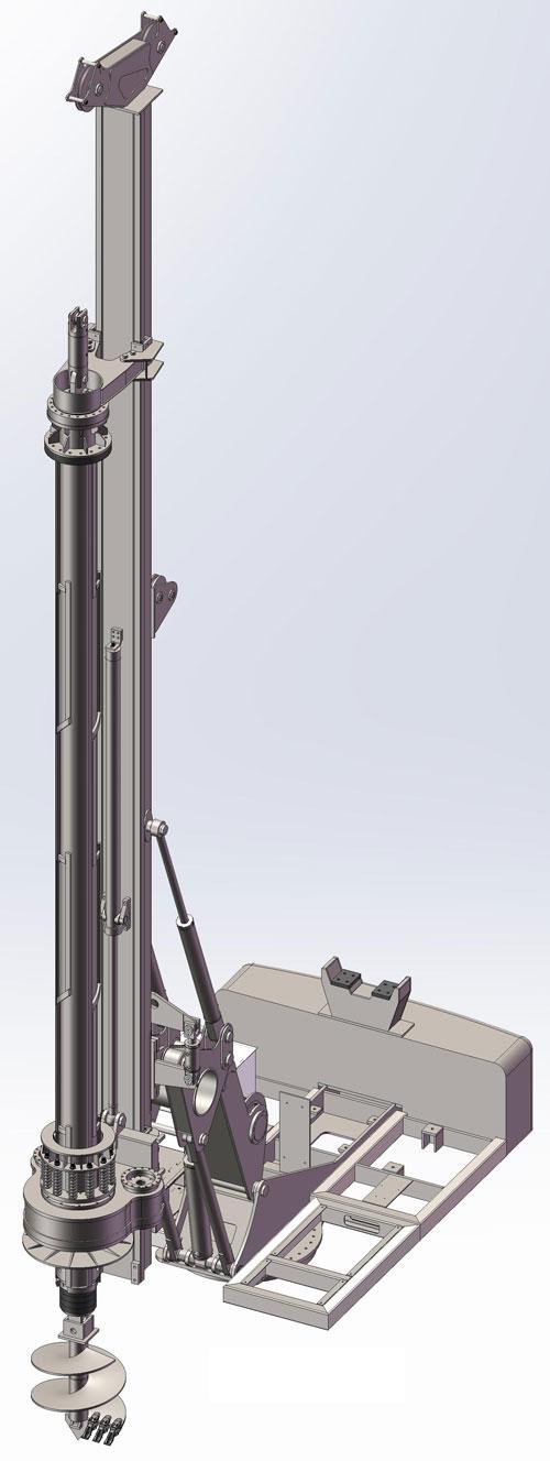 دانلود پروژه طراحی دکل حفاری سیار 16500kg (1)
