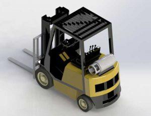 دانلود پروژه طراحی لیفتراک گازی (1)