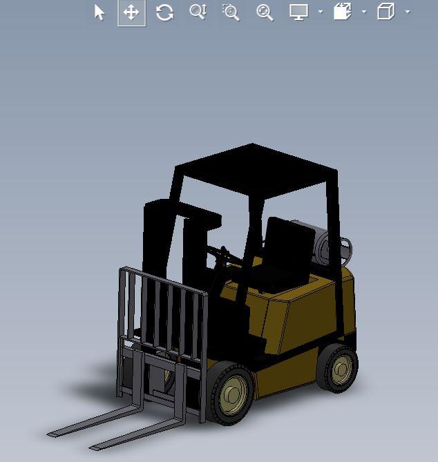 دانلود پروژه طراحی لیفتراک گازی (2)