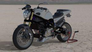 دانلود پروژه طراحی موتورسیکلت دوکاتی آر اس (2)