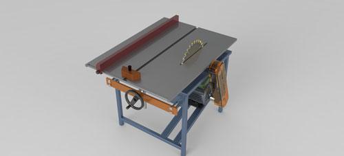 دانلود پروژه طراحی میز برش نجاری حرفه ای (2)