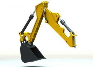 دانلود پروژه طراحی ناخن , باکت و بازوی بیل مکانیکی
