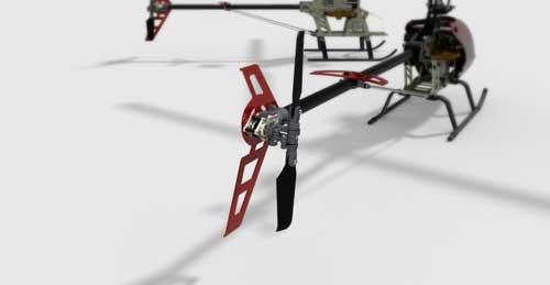 دانلود پروژه طراحی هلیکوپتر رادیوکنترلی HK450 (3)