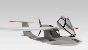 دانلود پروژه طراحی هواپیمای مفهومی سبک آبی خاکی ICON A5 (2)